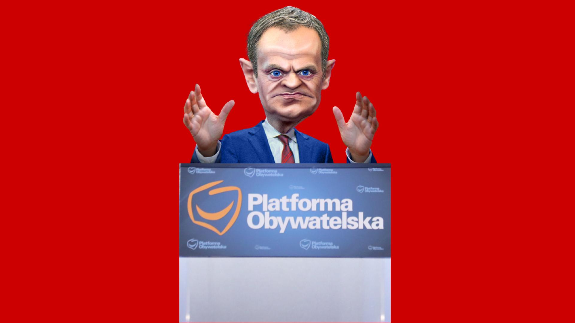 Donald Tusk wcale nie wraca