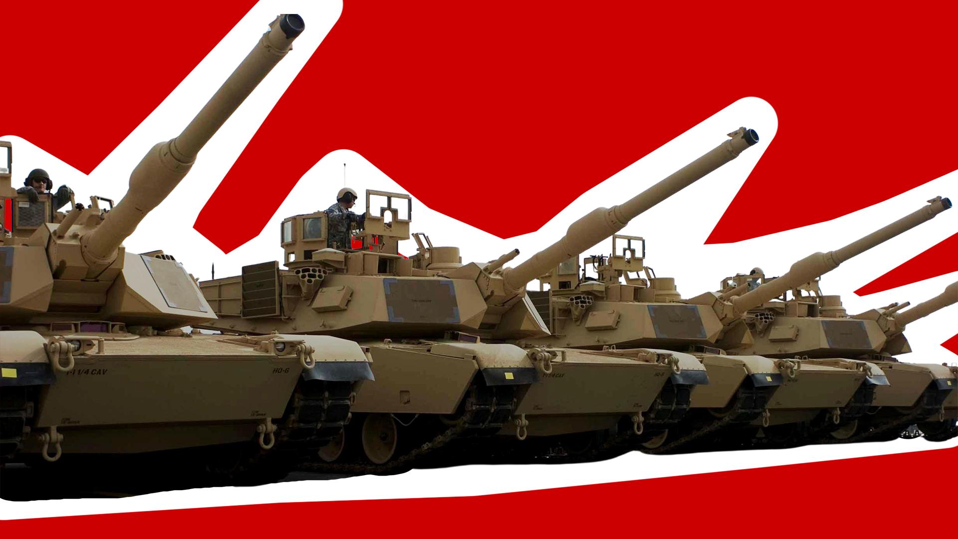 Sto tysięcy Abramsów pruje Alejami – czyli infantylny militaryzm prawicy