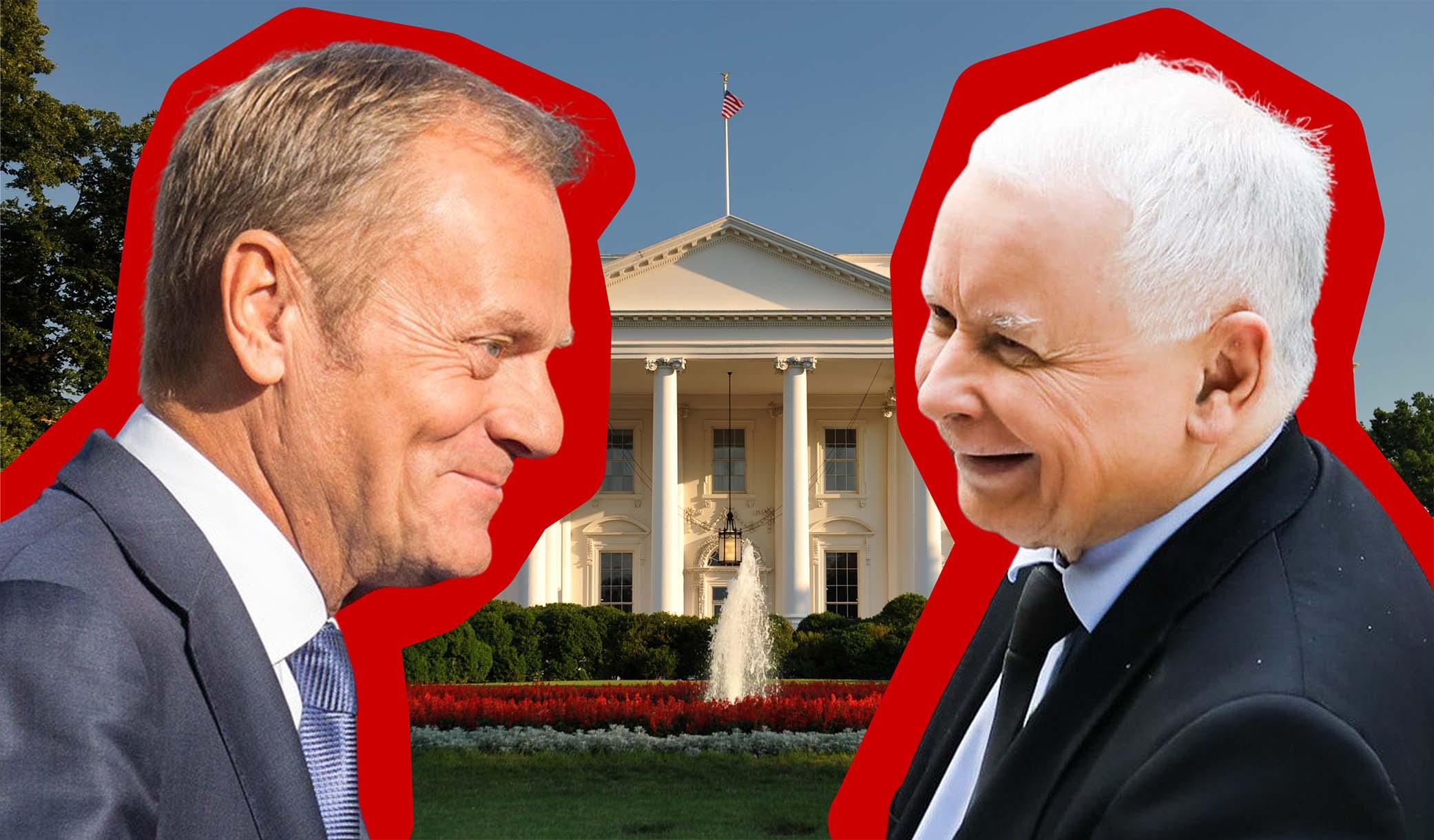 PO-PiS, czyli pozorowana wojna pod auspicjami Waszyngtonu