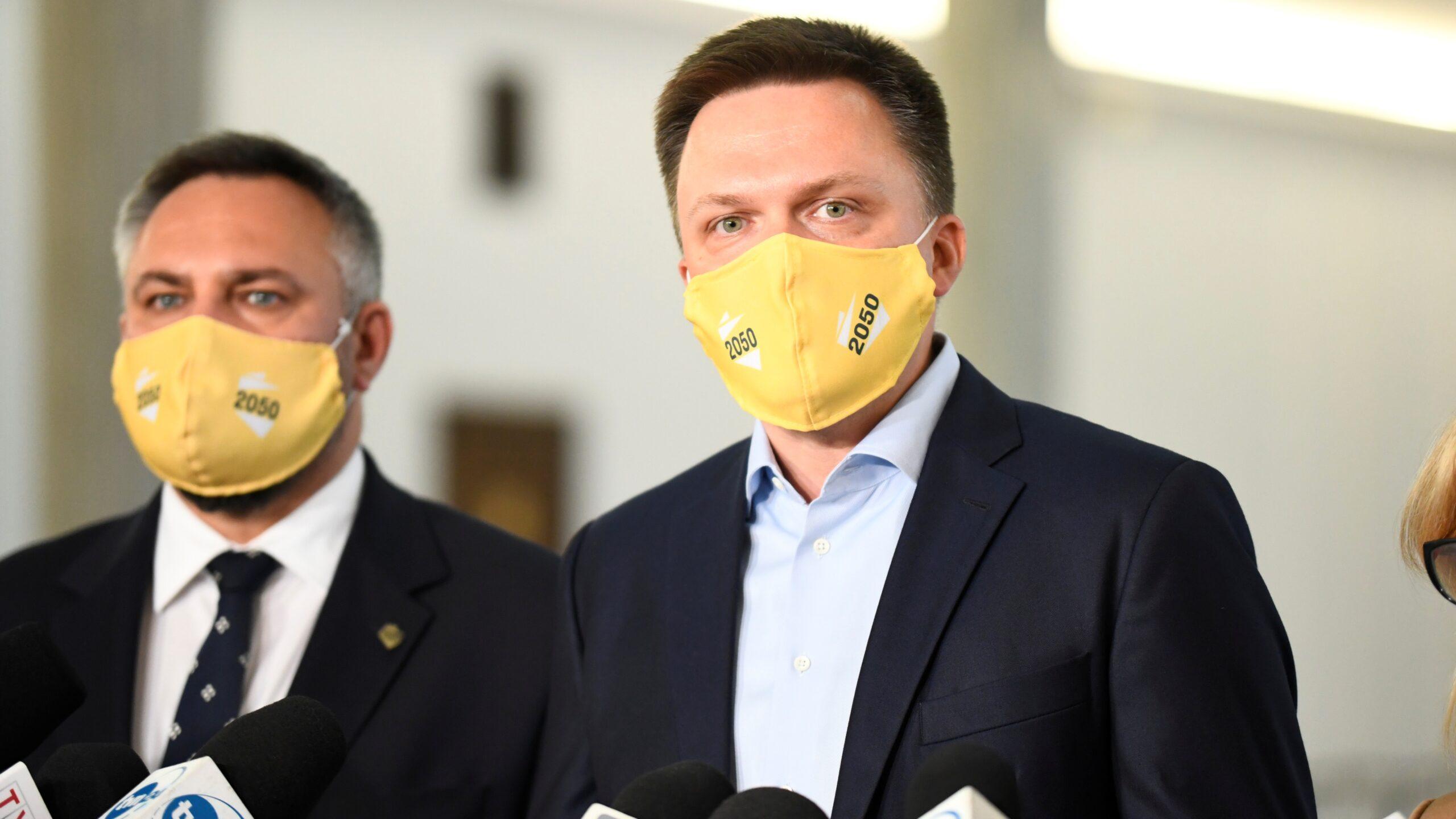 Hołownia: Kaczyński nie ma moralnego prawa rządzić Polską