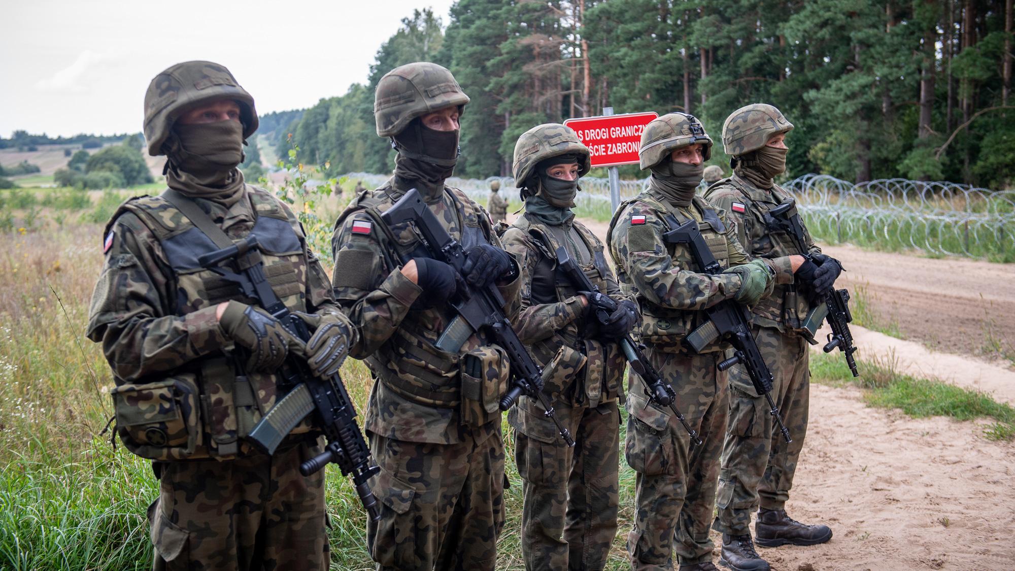 Straż Graniczna mówi o 130 przekroczeniach granicy z Białorusią