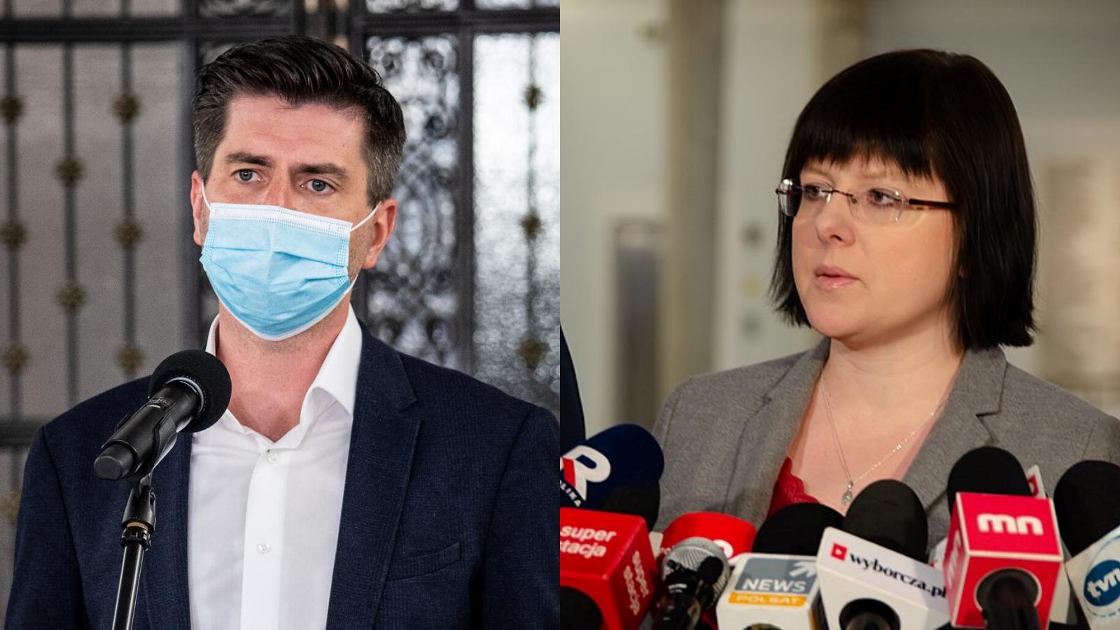 Godek zaatakowała Śmiszka: Nie udowodnił przed sądem, że jest gejem