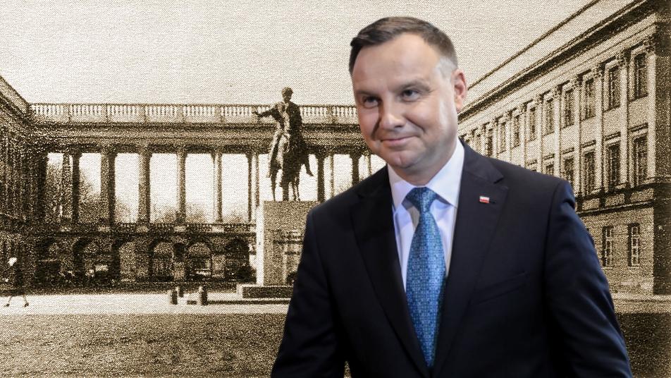 PILNE: Andrzej Duda podpisał ustawę o odbudowie Pałacu Saskiego w Warszawie