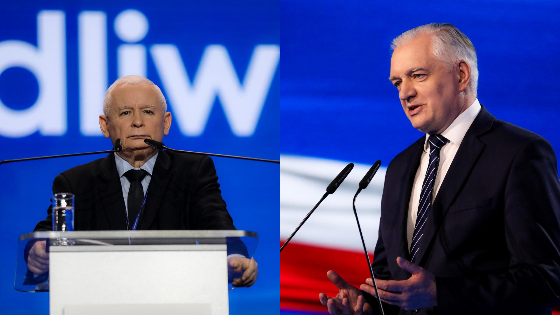 """Gowin: Podszedłem do Kaczyńskiego i powiedziałem """"Jarek, oszukałeś mnie"""""""