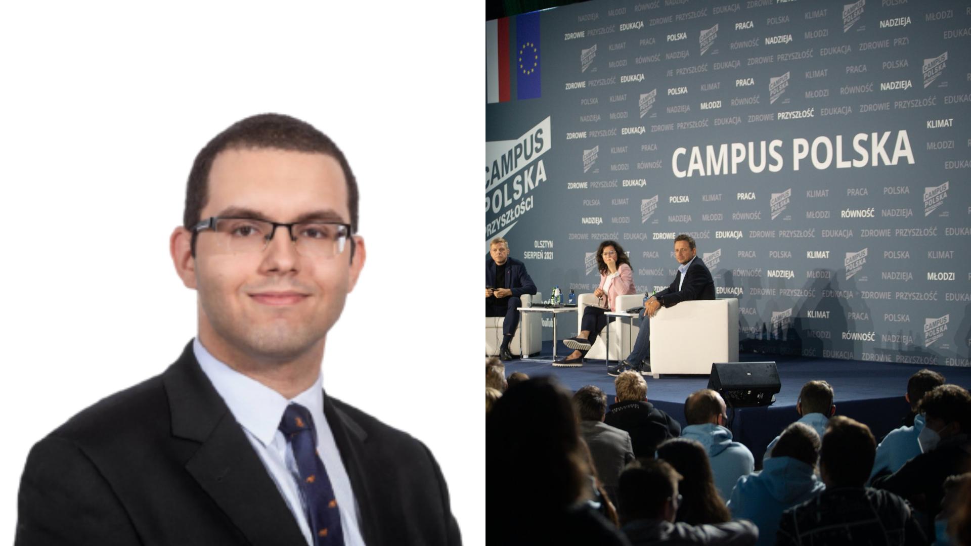 Mazurek: Opozycja oferuje młodym jedynie rolę fotomaskotek