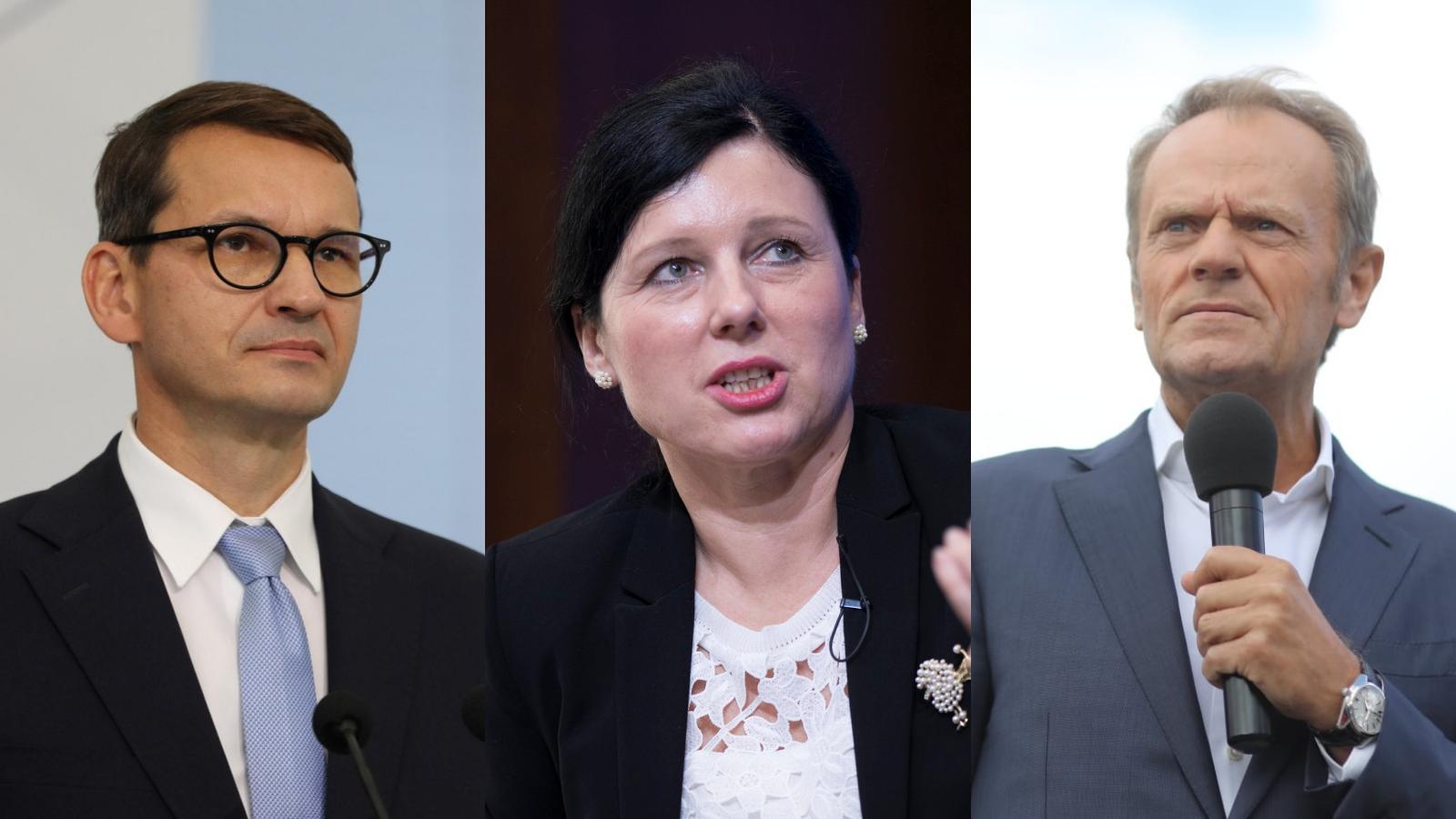 Wiceszefowa KE w Polsce. W planach rozmowy z Morawieckim, Tuskiem i Hołownią