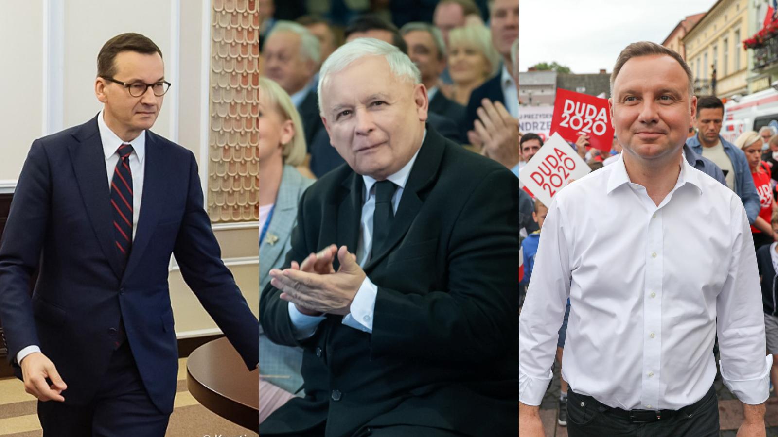 """Gowin ujawnił plan Kaczyńskiego. """"Rozważał zastąpienie Dudy Morawieckim"""""""
