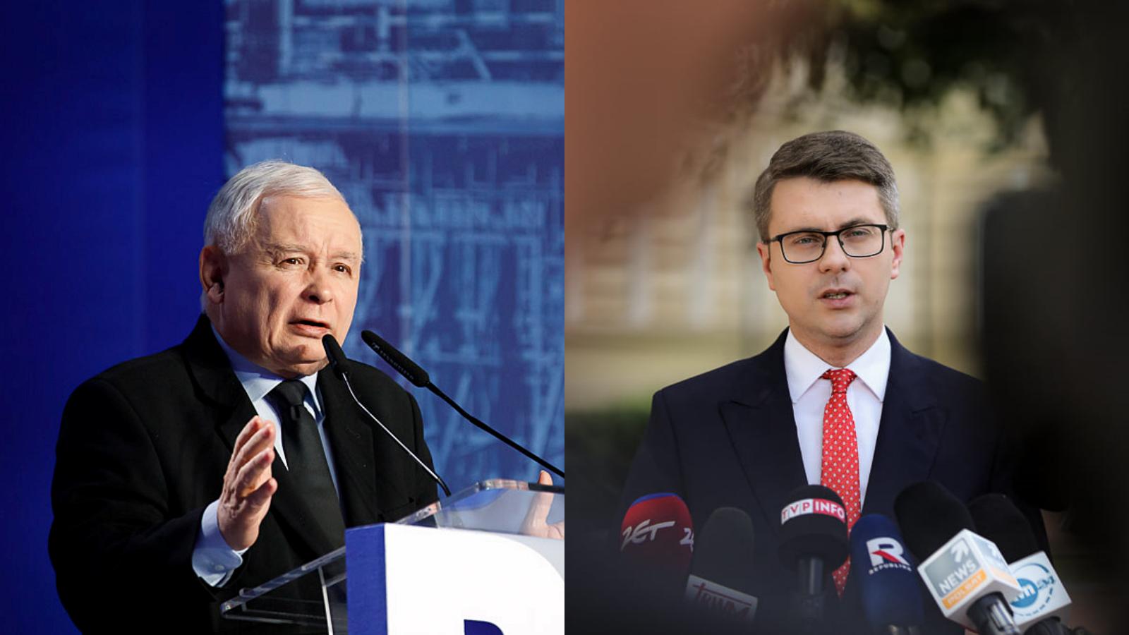 Czy Kaczyński odejdzie z rządu? Rzecznik Morawieckiego odpowiada