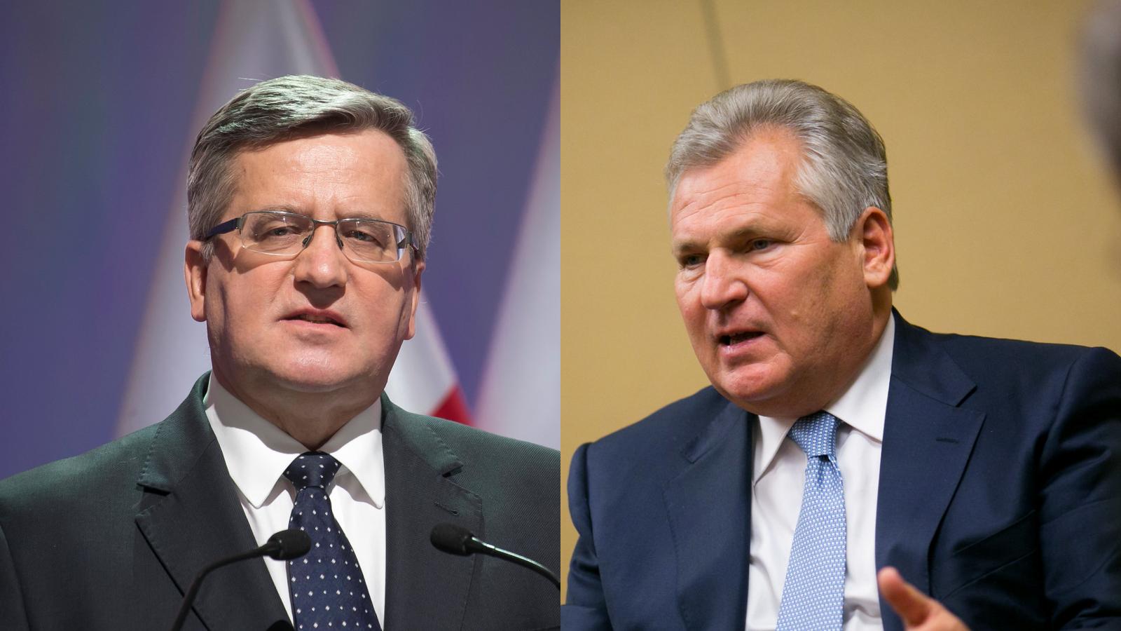 Byli prezydenci apelują do Andrzeja Dudy o odrzucenie Lex TVN