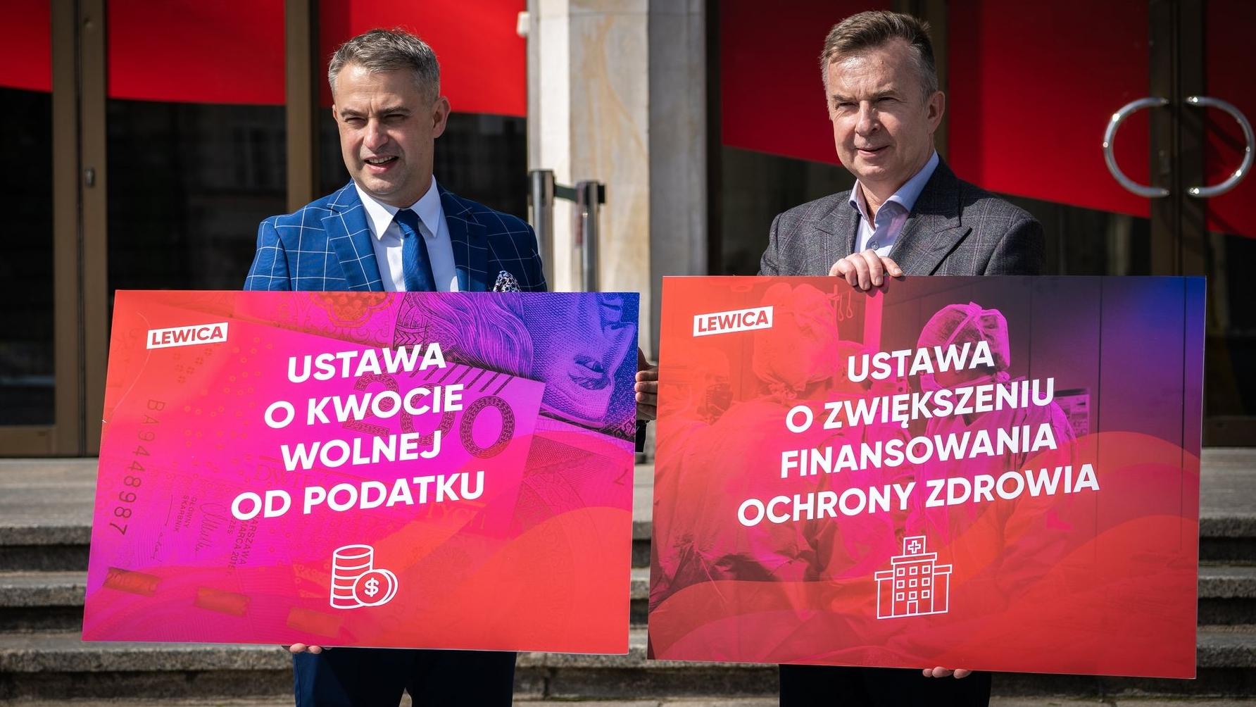 Lewica nie poprze Polskiego Ładu w obecnym kształcie. Politycy stawiają ultimatum