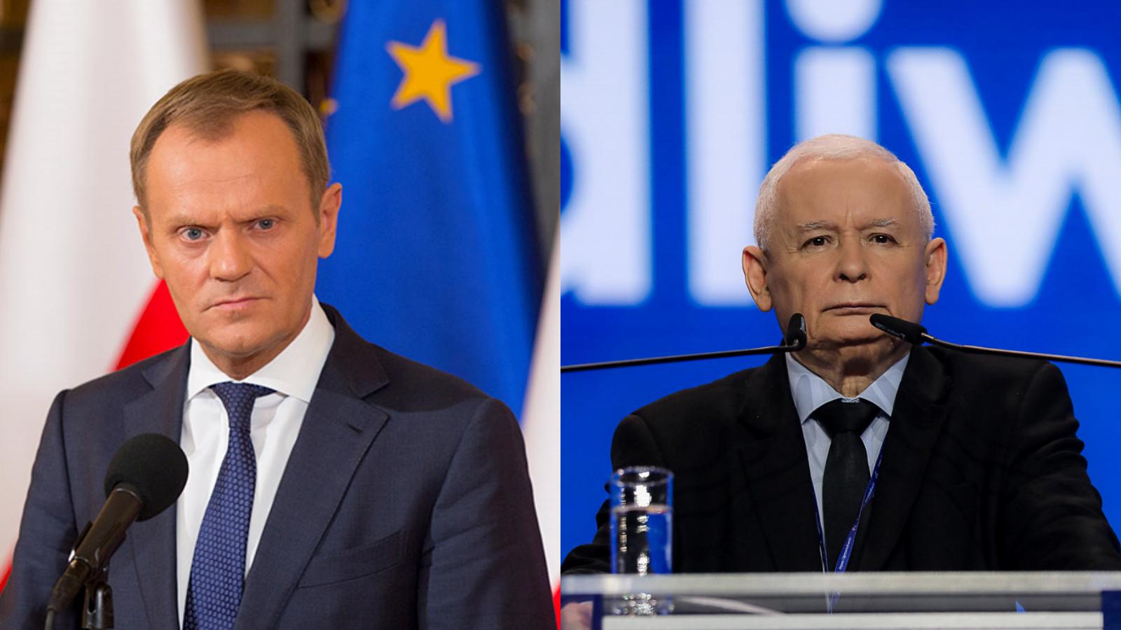 """Kaczyński nazywa Tuska """"tym panem"""", by nie promować jego nazwiska"""