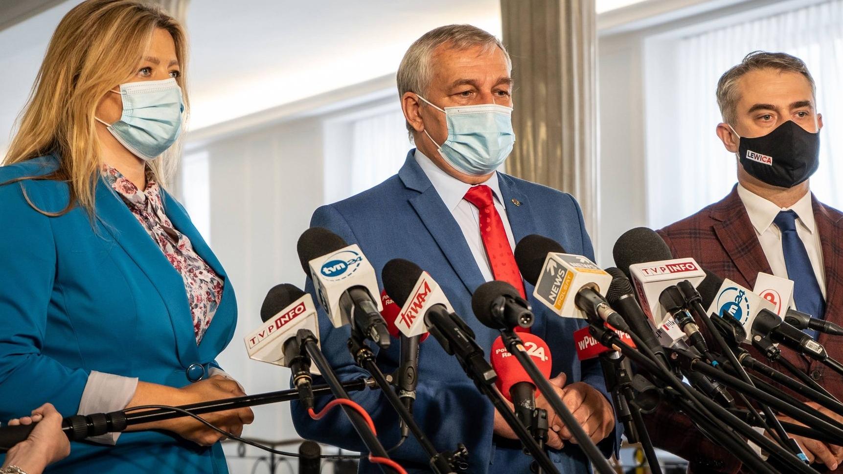 Lewica chce zwołania Rady Bezpieczeństwa Narodowego dotyczącej pomocy humanitarnej