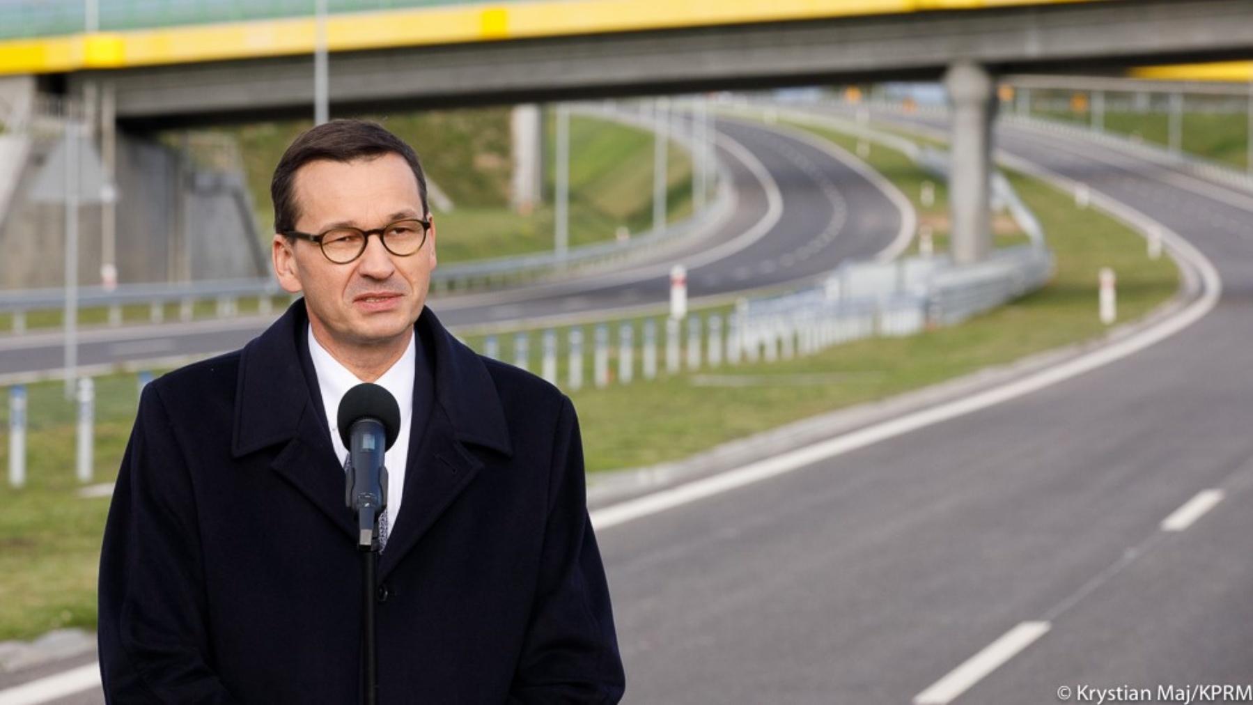 Morawiecki: Będziemy jednym z najlepiej skomunikowanych krajów w Europie