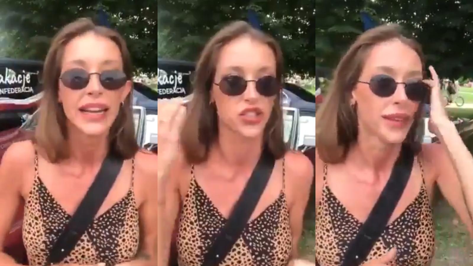 """Modelka, która chce Polski bez Żydów i LGBT: """"Lewica zrobiła mi reklamę wartą setki tysięcy"""""""