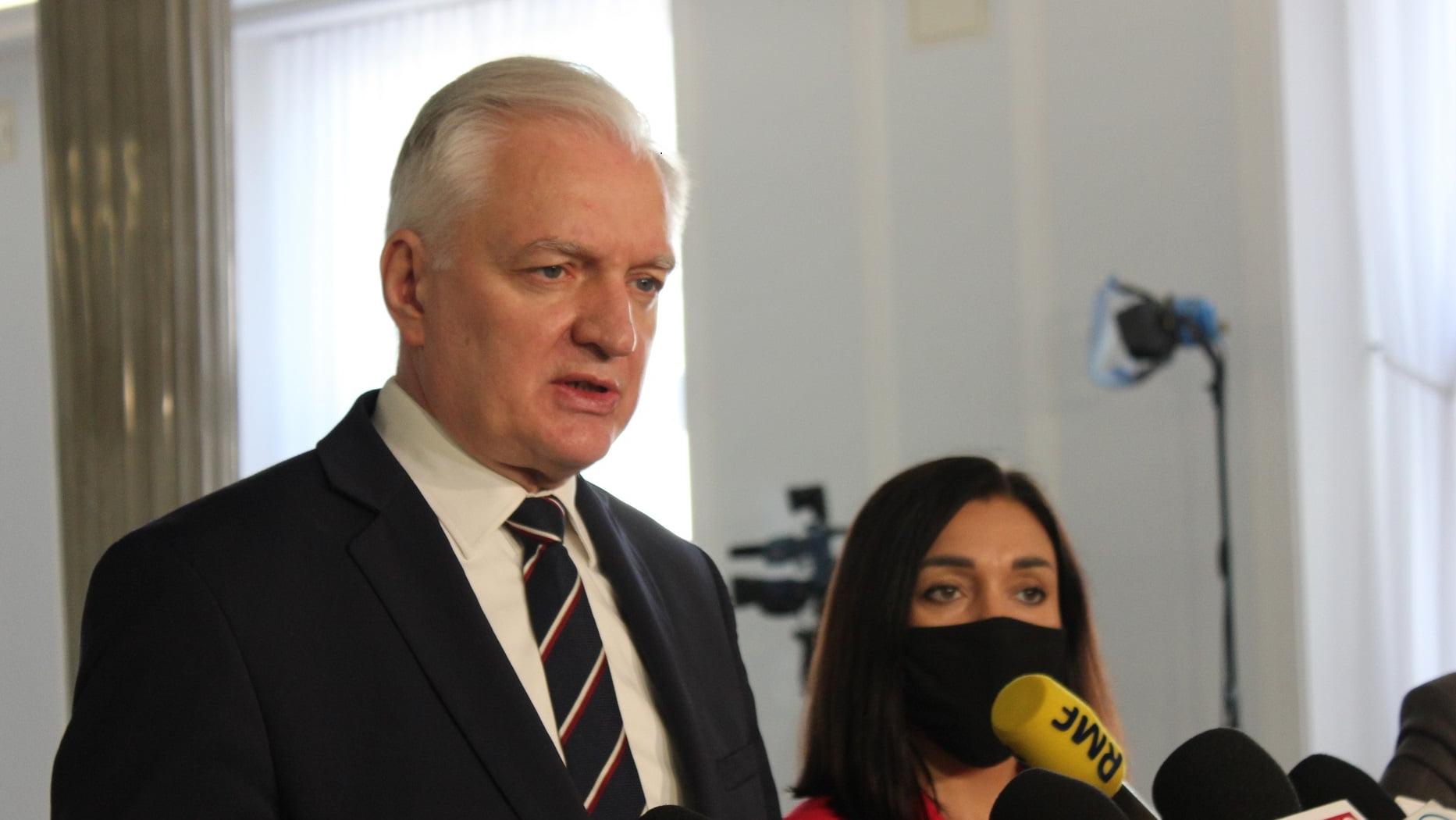 Gowin: Powrót do rządu nie wchodzi w rachubę, PiS utrzyma większość do wiosny