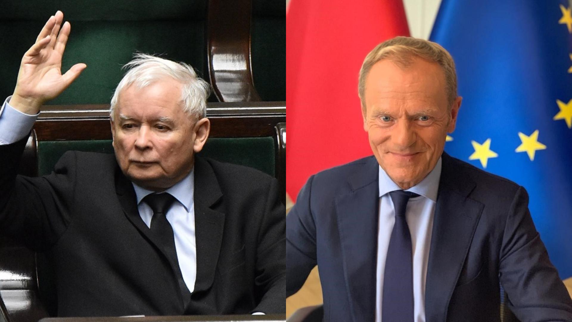 Tusk: Chcę chodzić do kościoła, w którym nie ma przemówień Kaczyńskiego