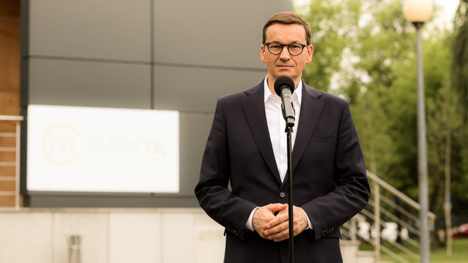 Morawiecki: PiS wprowadziło rewolucję godności, na którą zbyt długo czekaliśmy