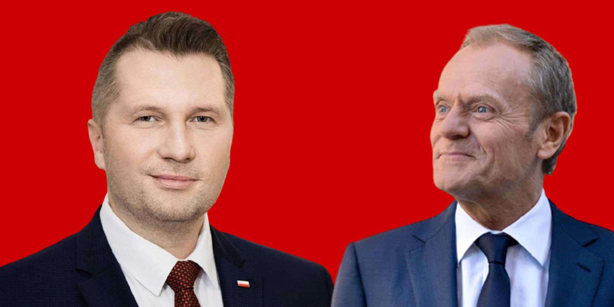 """Czarnek odpowiada Tuskowi: """"Mamy w Polsce wolność religijną, a nie dyktaturę lewactwa"""""""