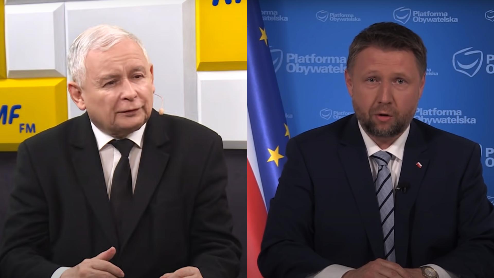 Kierwiński: Jarosław Kaczyński na COVID-19 robi zwykłą politykę