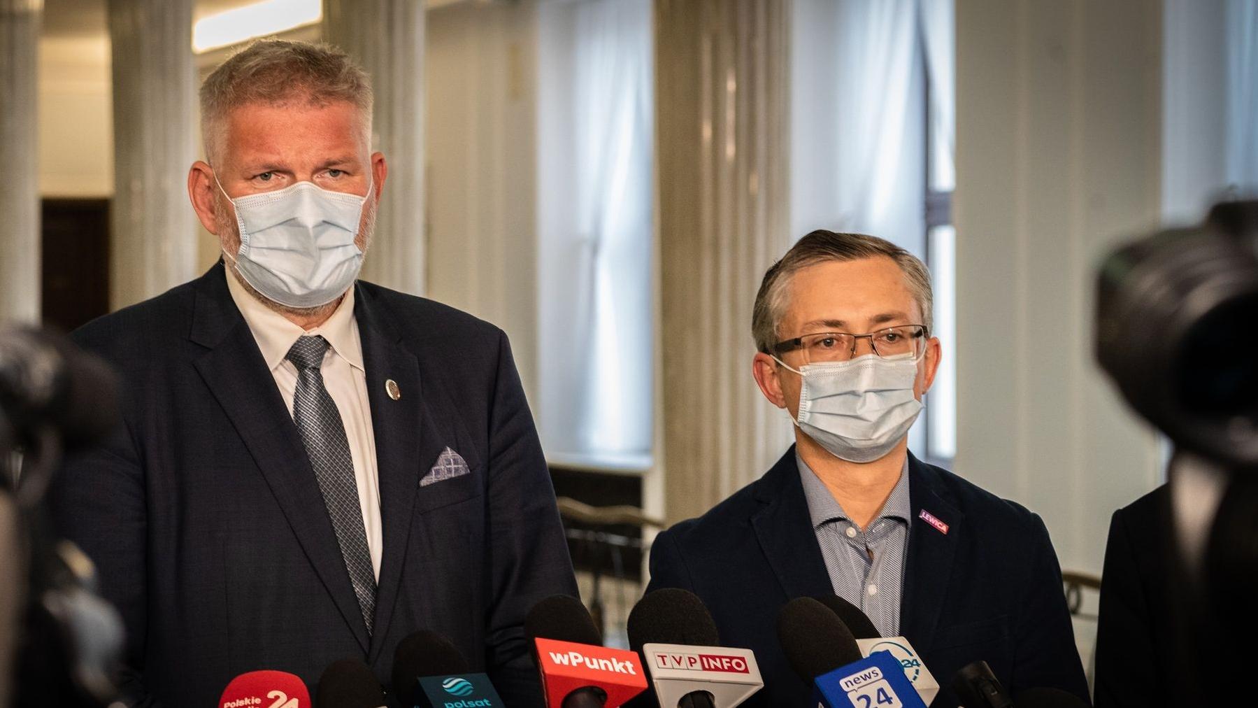 Lewica: Premier nie może dalej ignorować protestu medyków, polska służba zdrowia choruje przewlekle