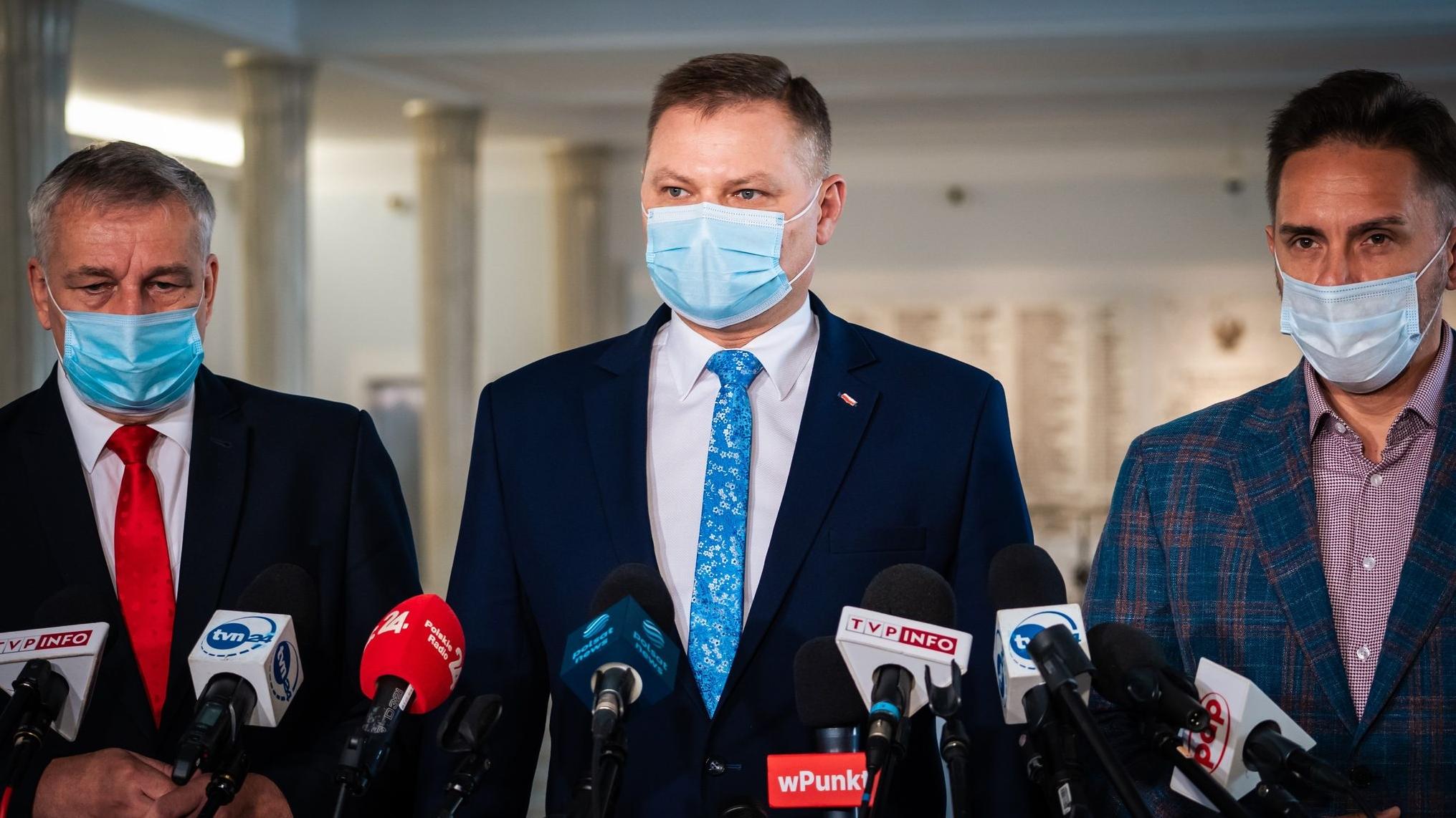 Lewica: Dziś mamy sytuację, że zastrasza się polskie społeczeństwo ws. sytuacji na granicy