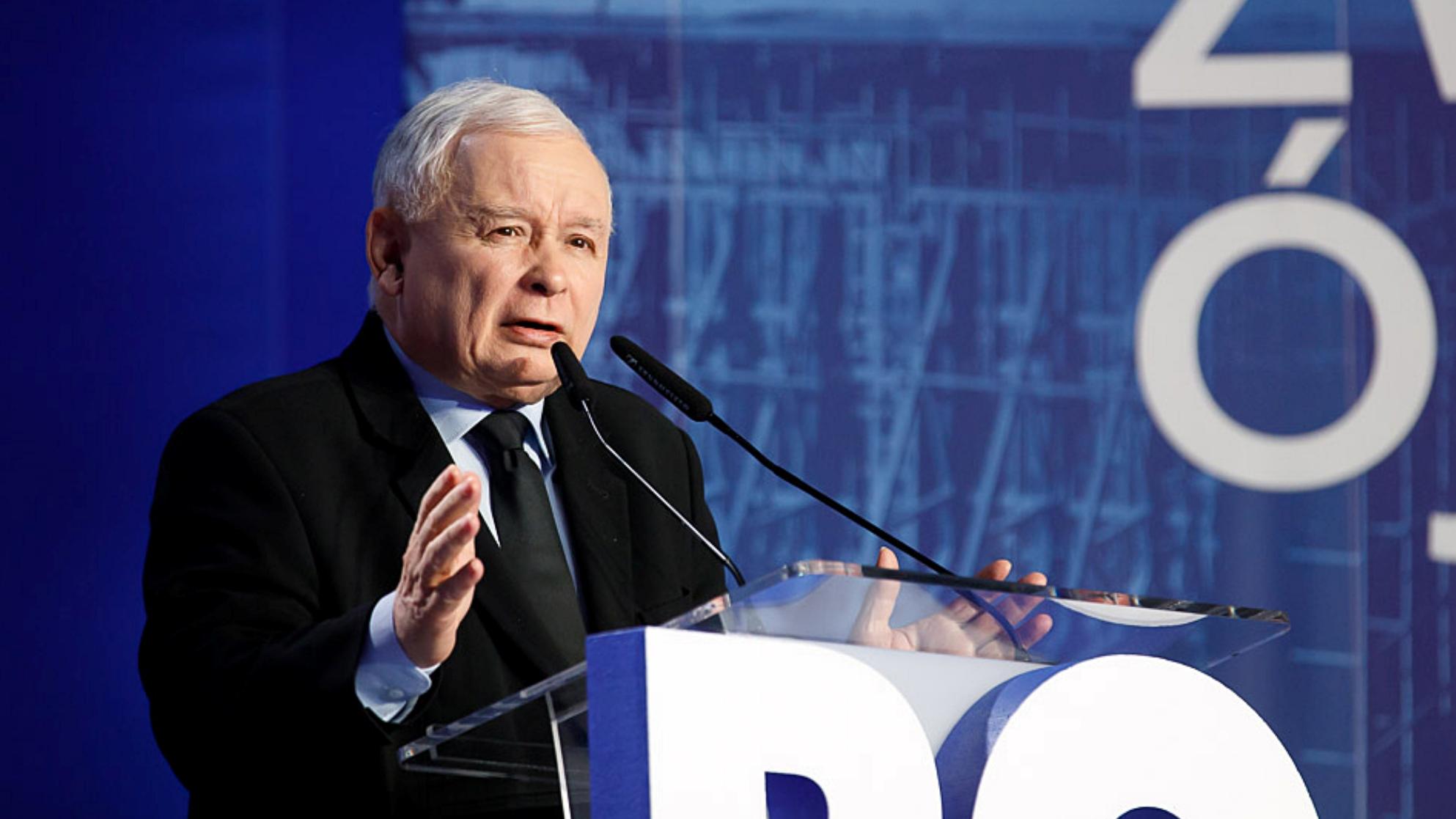 """""""To wymysł propagandowy"""". Kaczyński zabrał głos ws. Polexitu"""