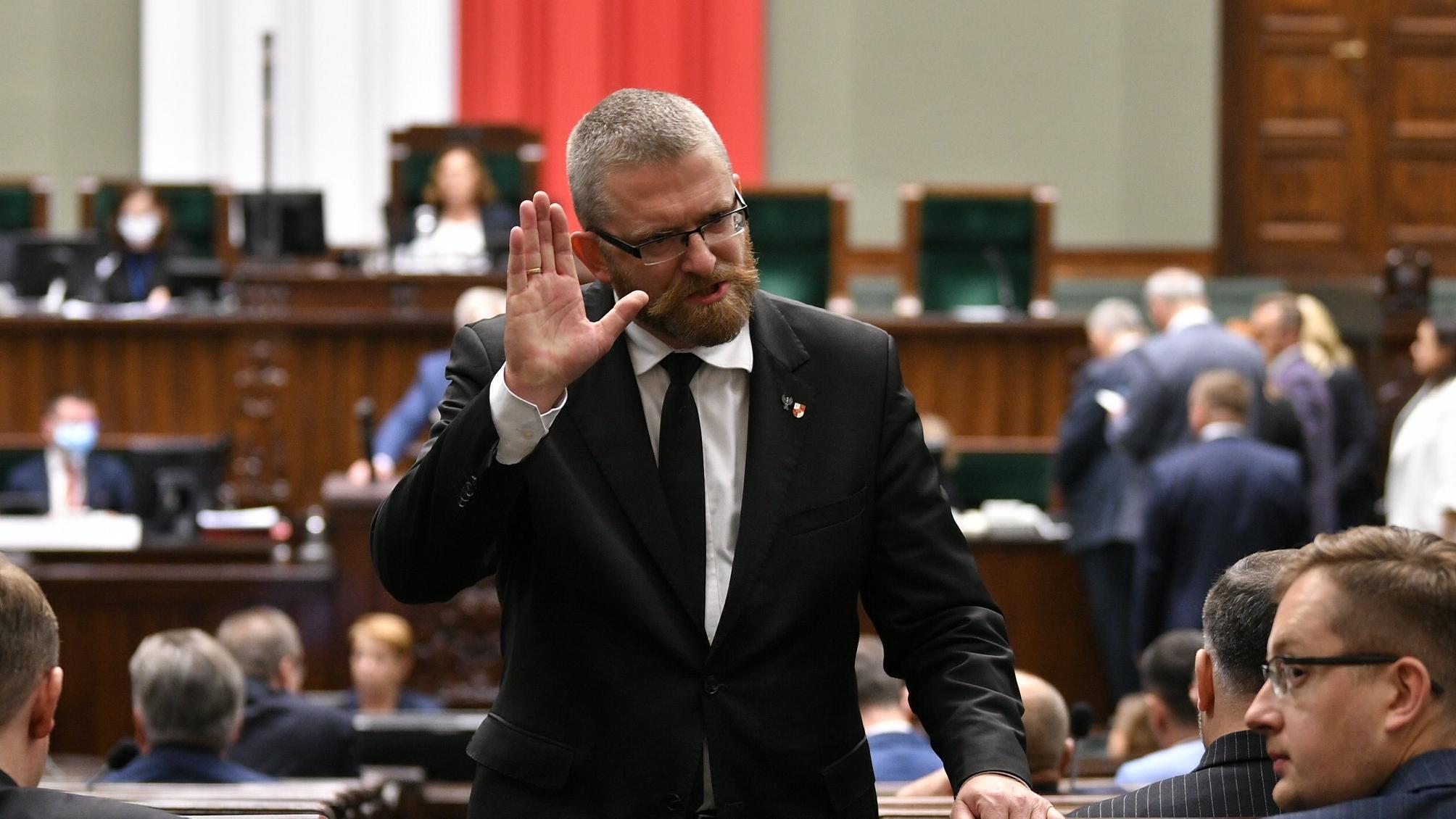 Grzegorz Braun ukrywa część dochodów. Poseł będzie miał problemy?