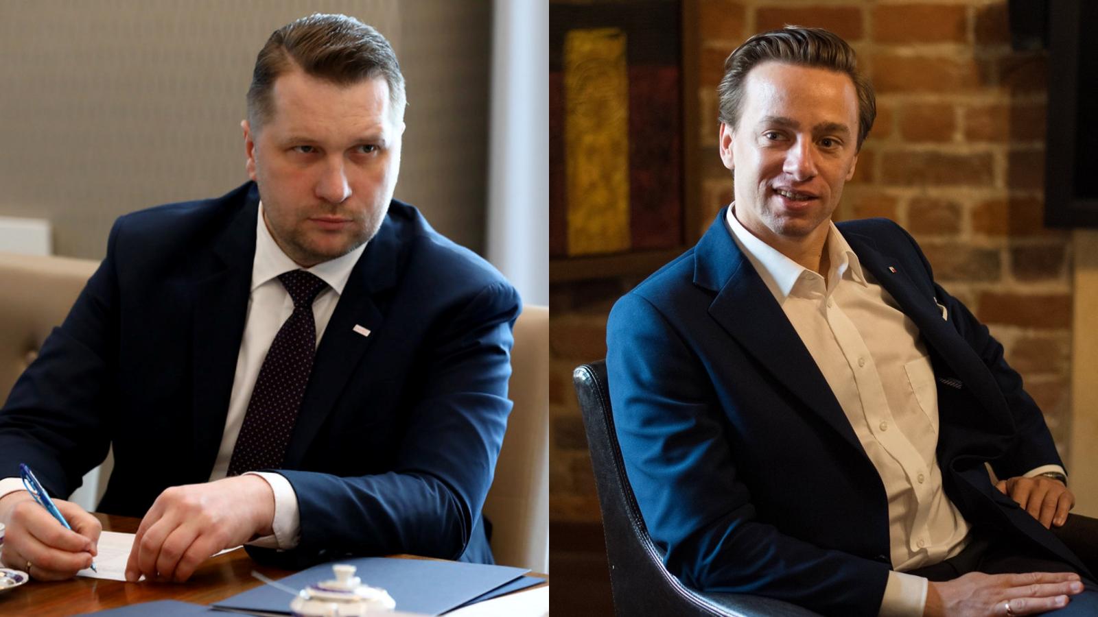 """Czarnek zaprosił Bosaka na spotkanie. Polityk PiS komentuje: """"Ja ten ruch rozumiem"""""""