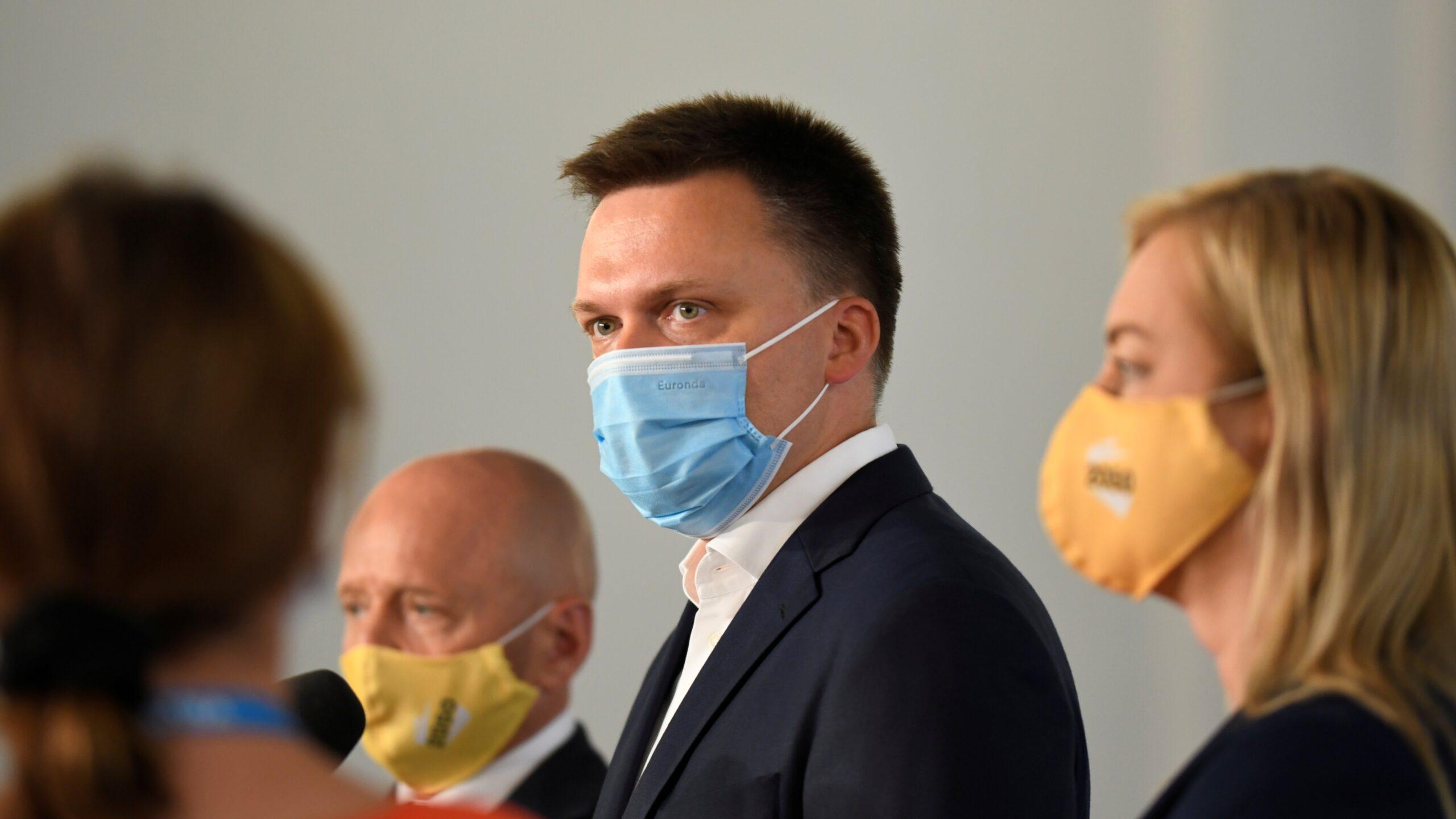 """Dlaczego Hołownia nie pojechał na Campus Trzaskowskiego? """"To impreza Platformy"""""""