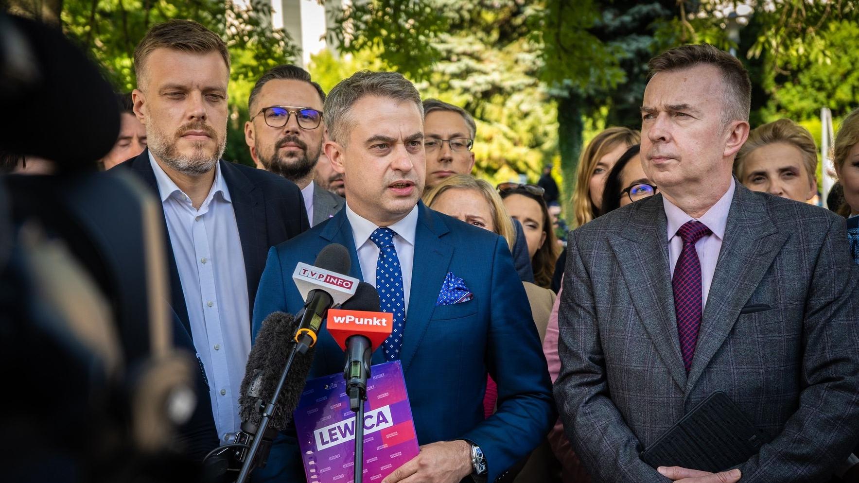 Lewica domaga się, aby prezydent dopuścił media na granicę polsko-białoruską