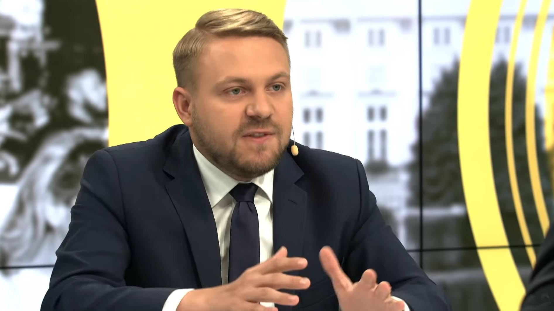 Wiceminister Ozdoba do PO: Powinniście wyrzucić Nitrasa na ZBITY PYSK
