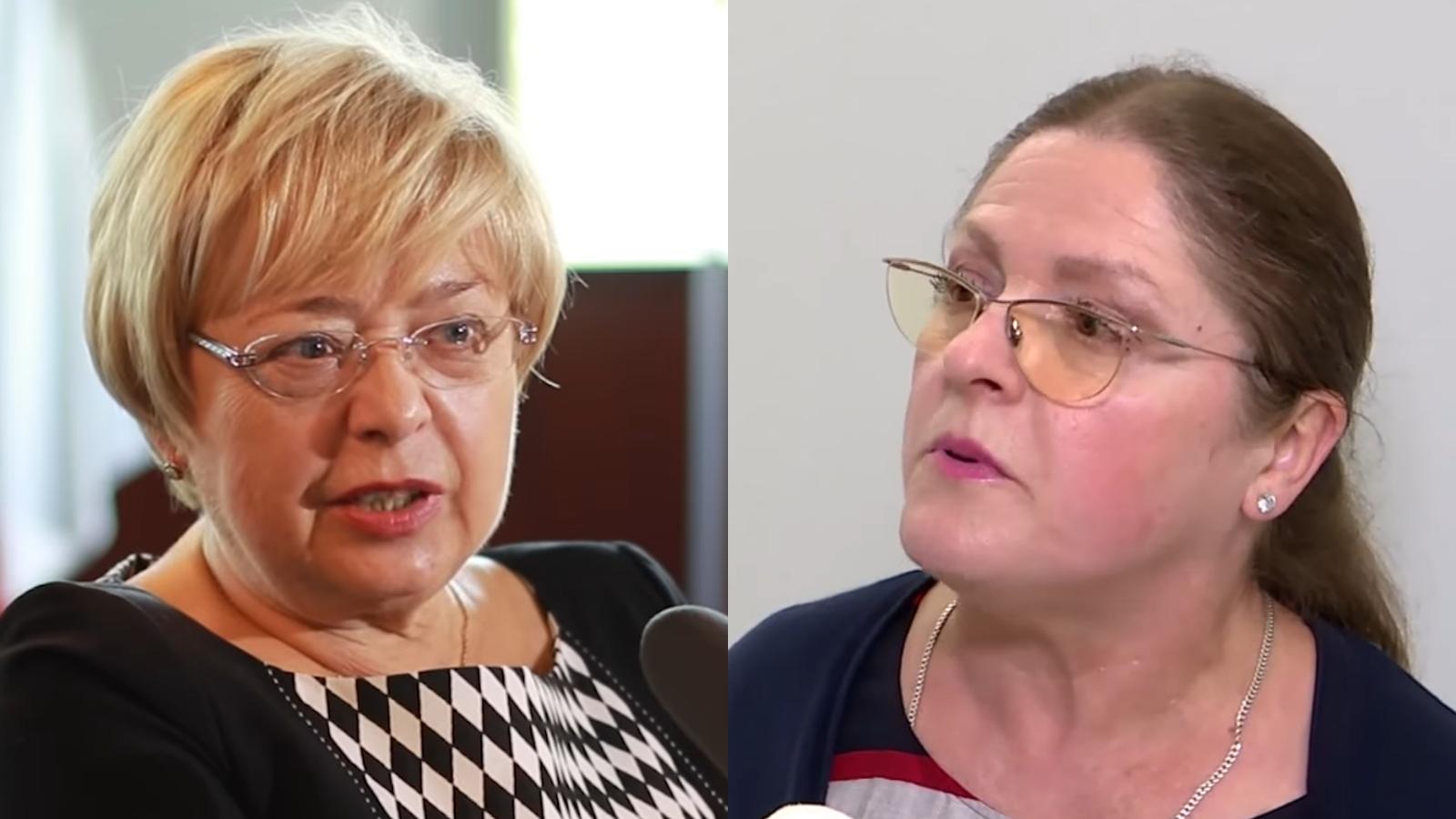 """Krystyna Pawłowicz odpowiada Małgorzacie Gersdorf. """"TVN czyni jednak cuda"""""""