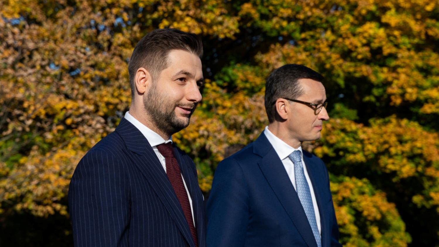 """Burza w PiS. Patryk Jaki: """"Gdyby toSzydło była premierem, decyzje byłyby inne"""""""