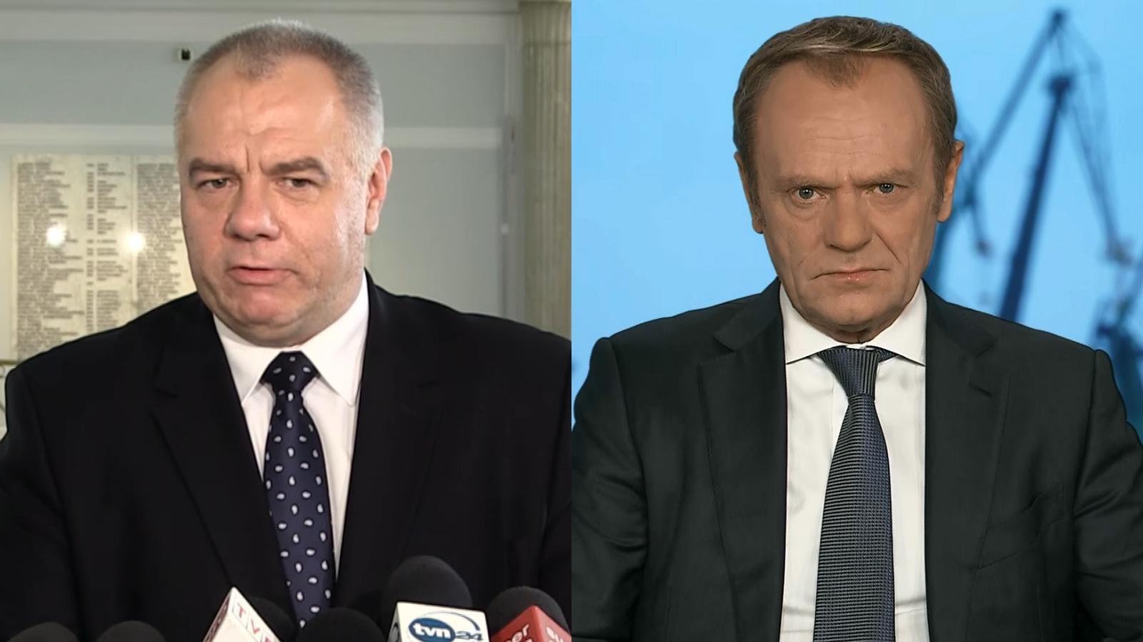 """""""Wina Tuska"""". Sasin tłumaczy, dlaczego podrożał gaz i oskarża przewodniczącego PO"""
