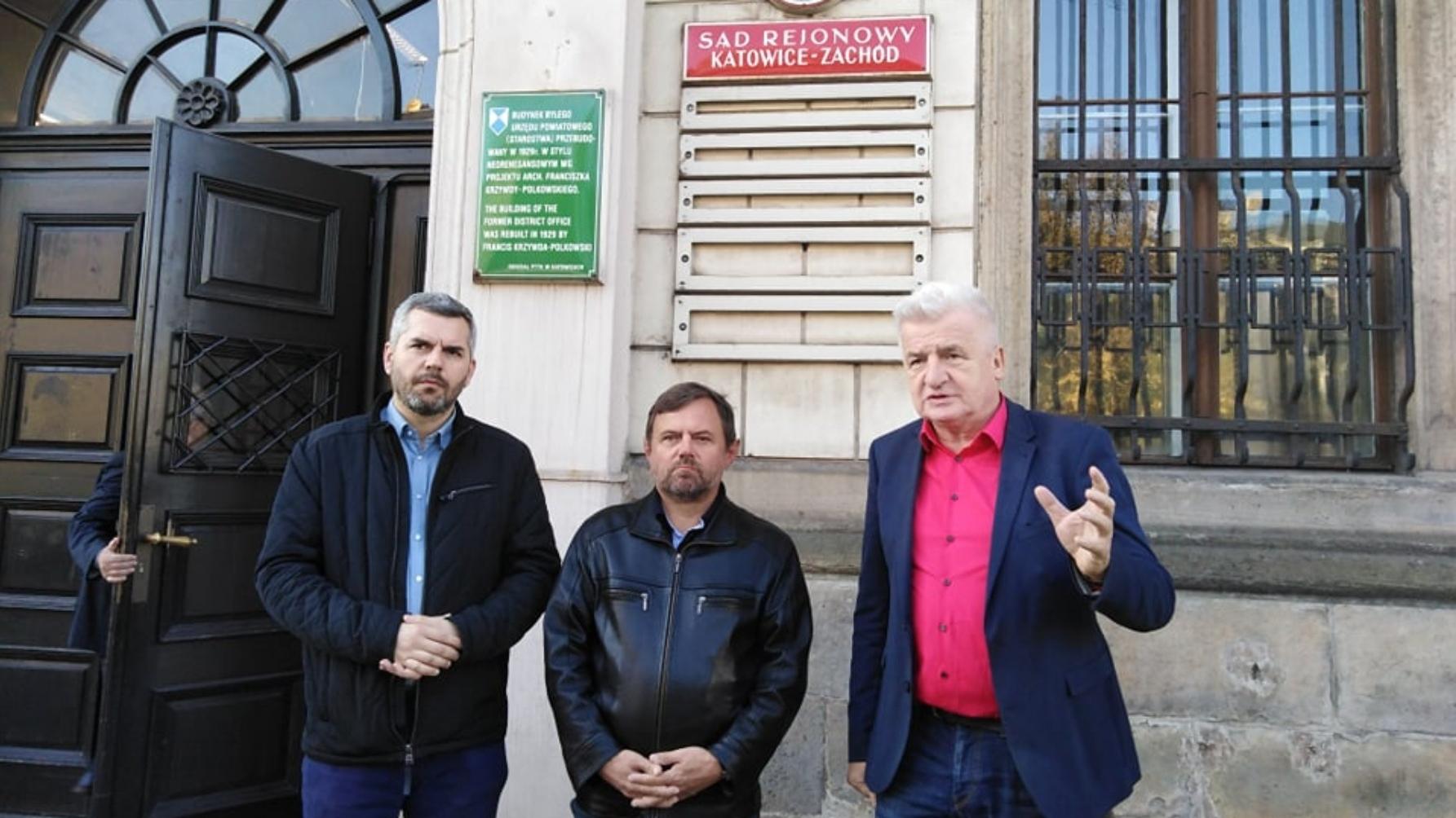 """Ikonowicz i Konieczny wsparli związkowca w sądzie. """"W zakresie ochrony związkowej państwo polskie nie działa"""""""